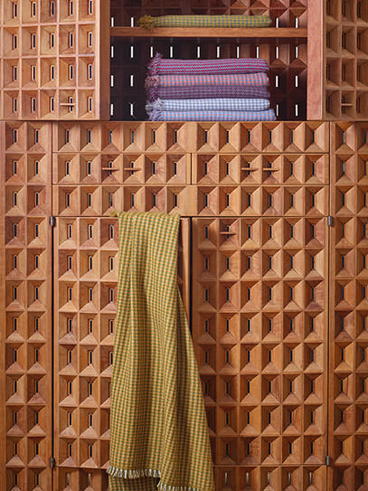 "Shawl ""Houndstooth"""