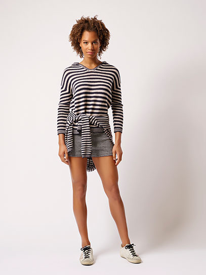 "Sweater ""Lucy stripy"",  Short ""Mon"""
