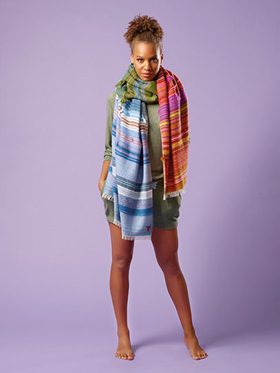 "Sweater ""Carina"", Plaid ""Gipsy Spectral"""